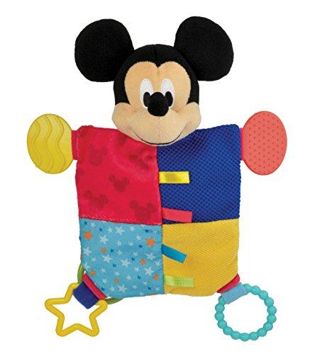 Disney Baby Mickey Mouse Plush Teether Blanket, (Plush Teether)