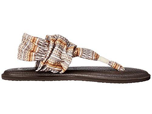 Sanuk Kvinna Yoga Sling 2 Vippan Naturlig-bayridge Filt