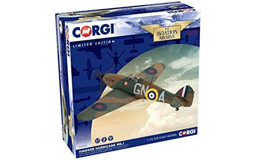 - Corgi Hawker Hurricane Mk.I, P3576 (GN-a), Flight Lieutenant James Brindley Nicolson (VC) Collector Airplane Kit