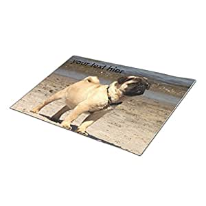 Palepink Fur Embracing Custom Door Mat