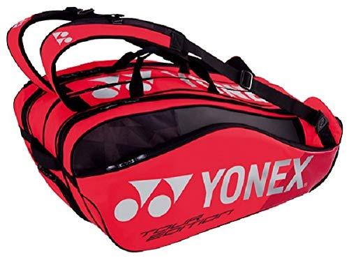 ヨネックス(YONEX) テニス バドミントン ラケットバッグ9 (リュック付) テニスラケット9本用 BAG1802N フレイムレッド B07FVS9KRL