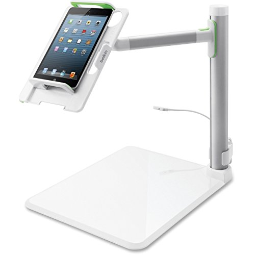 Belkin B2B054 Tablet Stage Stand for Presenters and Lecturers for Tablets from 7-11 Inches Including All Generations of iPad, iPad mini and iPad Air, Designed for School and Classroom by Belkin