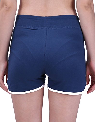 HDE Women's Retro Fashion Dolphin Running Workout Shorts (Midnight Blue, Medium) by HDE (Image #3)