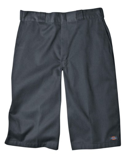 - Dickies Men's 15 Inch Inseam Work Short With Multi Use Pocket, Charcoal, 36