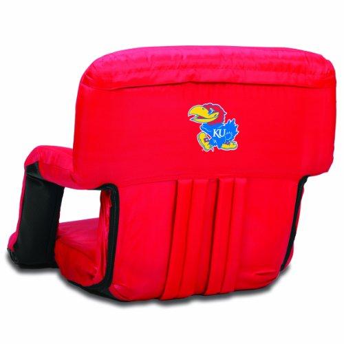 - NCAA Kansas Jayhawks Ventura Portable Reclining Seat, Red