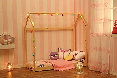 Sliverylake House Bed Frame Children Toddler Bed Bedroom Furiture 3