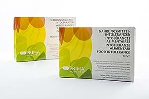 PRIMA Home Test Intolerancia Alimentaria (64 alimentos)