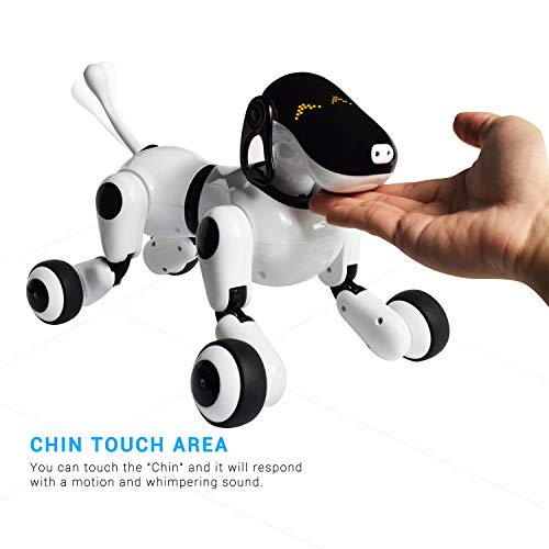 Contixo Puppy Smart Interactive Robot Pet Toy for Kids, Voice, App, and Touch Controlled by Contixo (Image #1)