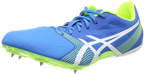 Asics Unisex Adults' Hypersprint 6 Track and Field Shoes Blue (Diva Blue/White/Aqua Splash) 4Qr7WfZs