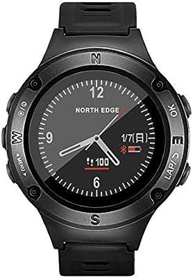 OOLIFENG Relojes Inteligentes de GPS, 50m Impermeable Reloj ...