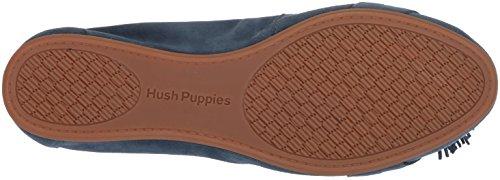 Hush Puppies Womens Heather Nappa Balletto Vintage Piatto Indaco