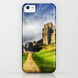 The Old Castle iPhone & iphone 5c Case by Vicki Field
