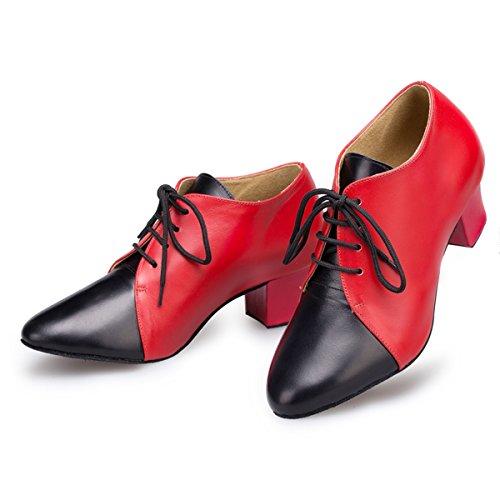 Miyoopark - salón mujer Red/Black-4.5cm Heel
