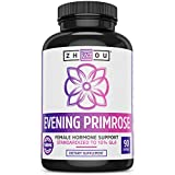 Evening Primrose Oil for Women-1400 mg 10% GLA Cold Pressed & Hexane Free for Women's Health Support
