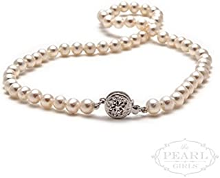 product image for Little Pearl Girls Cultured Pearl Necklace