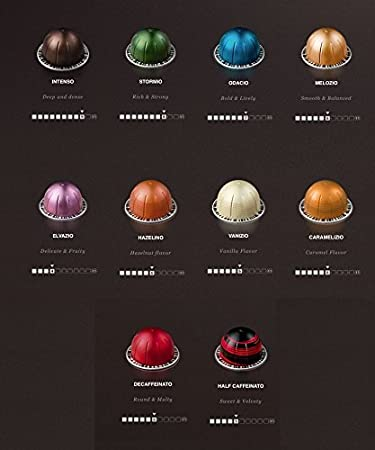 Nespresso Vertuoline - The Initial Sampler Coffee Capsules Pods ...