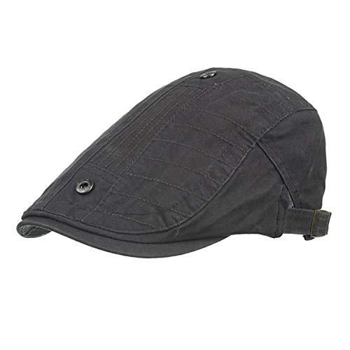 hat para A GLLH Hombre A Sombreros Gorra qin Tachonada Escocesa w5WqACZ