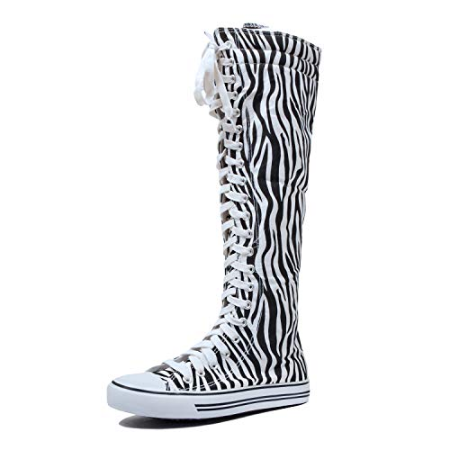 West Blvd Sneaker Boots Zebra Canvas, 8.5 for sale  Delivered anywhere in USA