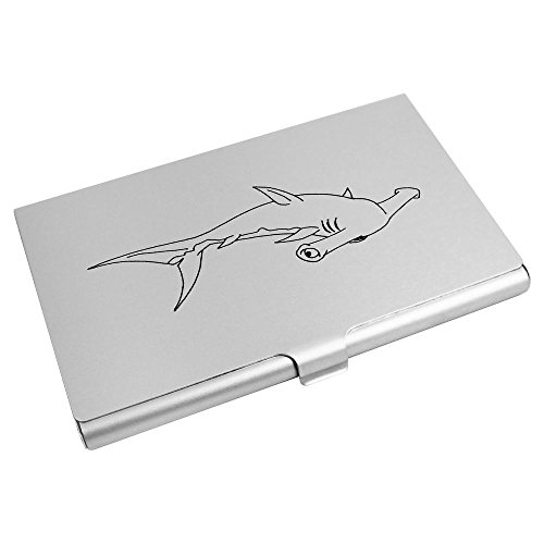 Wallet Azeeda Card Card Credit Shark' CH00006967 Holder Business 'Hammerhead qqPB4wZ0
