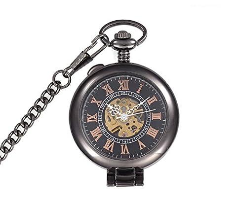 Pocket watch, mechanical watch,automatic, retro, beautiful, gifts, M0009 (Sangdo Automatic Watches)