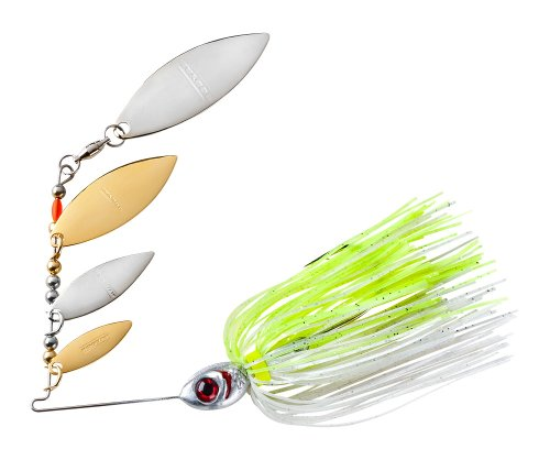- Booyah BYSS38-612 Super Shad Spinnerbait, 3/8-Ounce, Silver