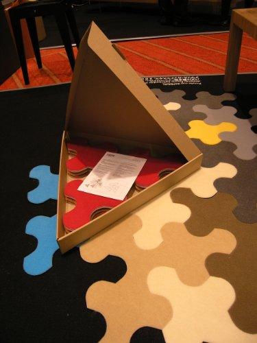New Carpet Jigsaw Puzzle Rug Imperial Dark Grey Amazoncouk Kitchen U0026  Home.
