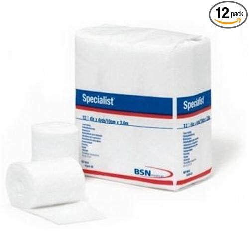 BSN 9043 3 in. x 4 yard 100 Percentage Cotton Specialist Cast Padding, 12 Rolls per Bag