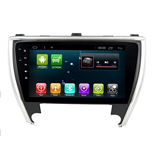 Head Unit CaCar Radio GPS Android 8.0 Octa Core Navi for Toyota Camry 2015 2016 2017 Stereo Car Head Unit Device Multimedia Player Navigation Map BT WiFi (Android T8 2+32G for Camry)