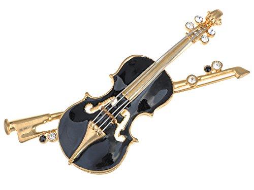 violin brooch