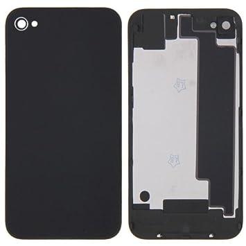 alsatek Repuesto Carcasa Trasera para iPhone 4 (CDMA) Negro ...