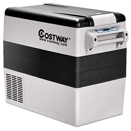 54 Quarts Portable Electric Car Cooler Refrigerator