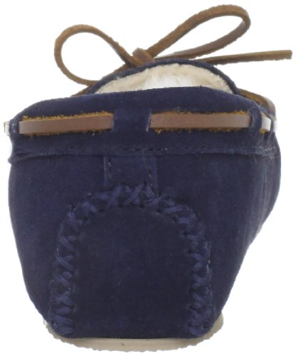Minnetonka Cally Slipper, Zapatillas de Estar por Casa para Mujer Azul (Dark Navydark Navy)