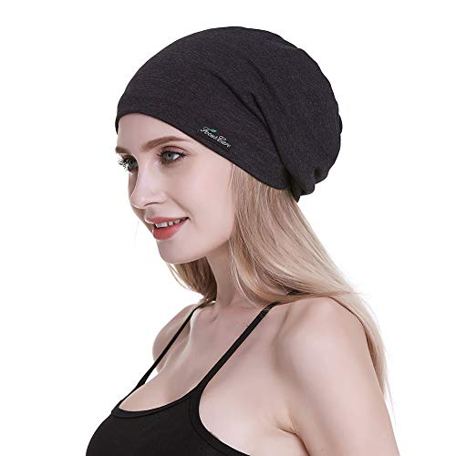 Sleeping Slouchy Cap for Frizzy Hair Gifts for Girl Friends with Long Hair Light Weight Sleep Headwear (Net Wrap Hair)