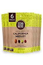 Second Nature California Medley Trail Mix - Nut Snack Blend, Gluten Free - 26 oz Resealable Standup Pouch (Pack of 6)