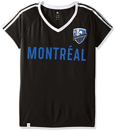 fan products of MLS Impact Montreal Adult Women New Club Top,Medium,black