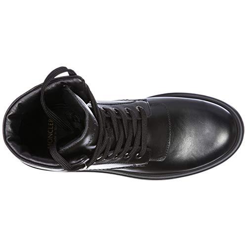 1078d26a8 Moncler Women's Leather Combat Boots Patty Black UK Size 3 ...