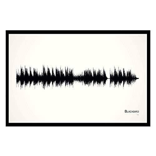 - Blackbird - 11x17 Framed Soundwave print