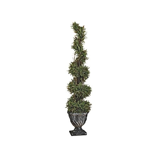 Design Toscano Spiral Topiary Small Tree Urn by Design Toscano