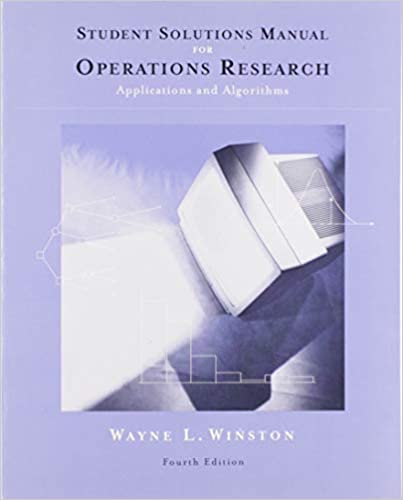students solutions manual operations research applications and algorithms wayne l winston format