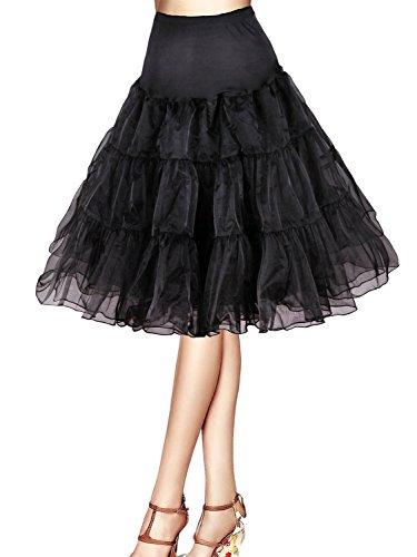 Vintage Women's 50s Rockabilly Tutu Skirt 25