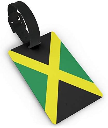 ジャマイカの国旗 ラゲージタグ 旅行荷物タグ 便利グッズ PVC 出張用タグ 番号札 旅行用品 紛失防止 軽量 カバン装飾 便利