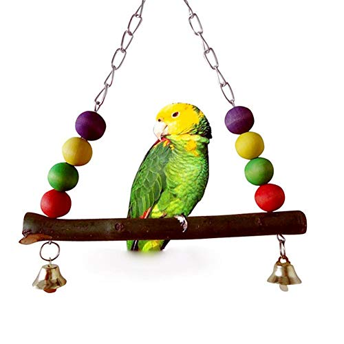 Glove Whistle (Bird Training - 1pc Parrot Cockatiel Birds Wood Swing Stand Cage Decor Hanging Toys Pet - Book Treats Bird Dummy Supplies Stand Dogs Gloves Whistle Stick Perch Toys Methods Training Tools)