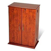 Prepac CVS-0136 Small Locking Media Storage Cabinet (Cherry)
