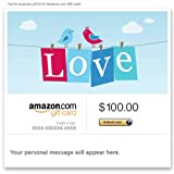 Amazon eGift Card - Love