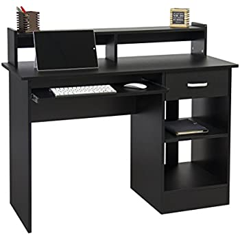 best choice products computer desk home laptop table college office furniture work station writing