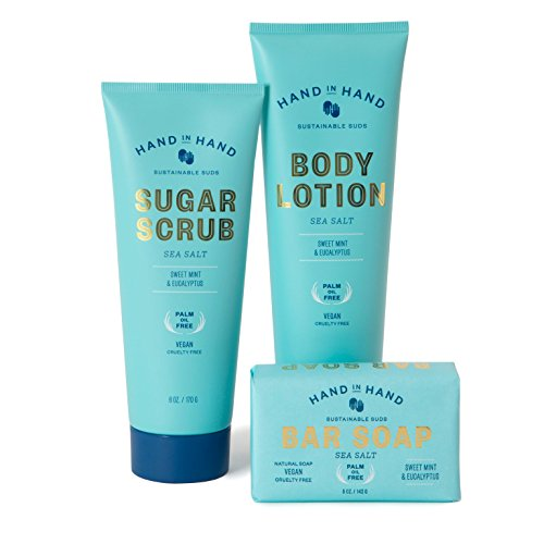 Sea Salt Natural Vegan Palm Oil Free Classic Ultimate Skin Essentials Set