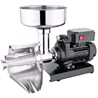 FonChef Commercial Grade Electric Tomato Strainer Milling Strain Press Machine Iron Cast Boyd Stainless Steel Hardware 300-370W 160RPM