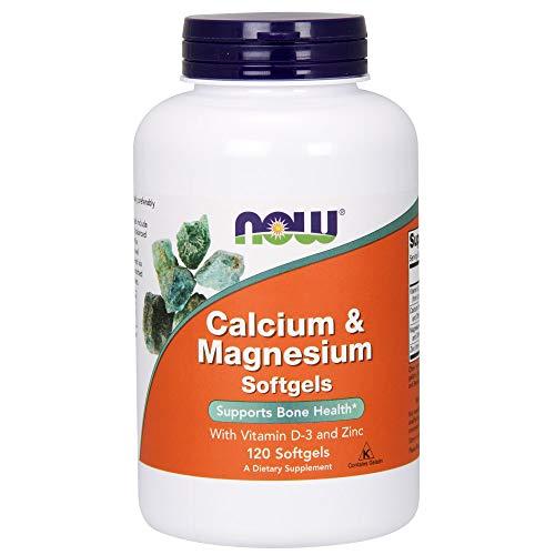 NOW Supplements, Calcium & Magnesium, 120 Softgels