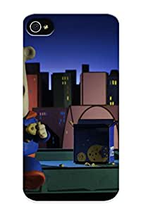 Ultra Slim Fit Hard Hijackno Case Cover Specially Made For Iphone 4/4s- Superman By Aardman
