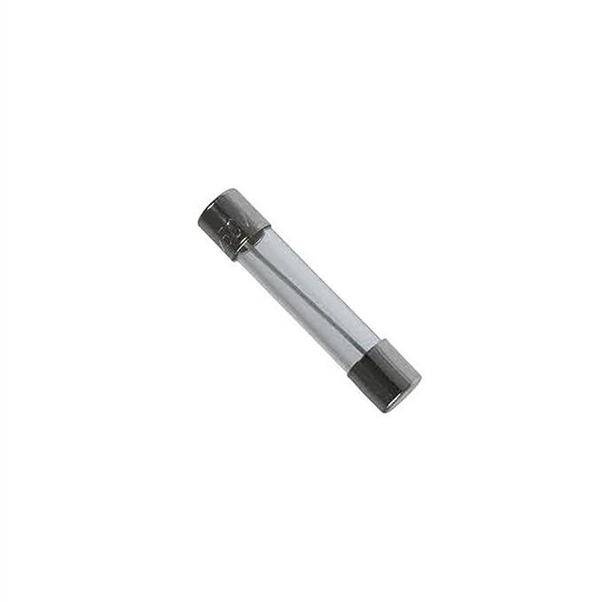 5x Fusible rapide (F) en verre 10A / 250VAC 6.3x32mm